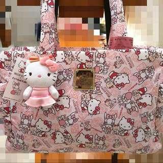 Crystal Ball狗頭包-肩背包- Hello Kitty歡樂娃娃屋 拉法葉(不包含Kitty吊飾)