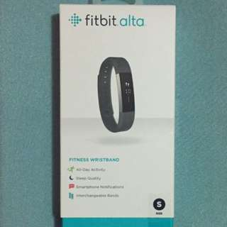Fitbit Alta Small Black Never Opened
