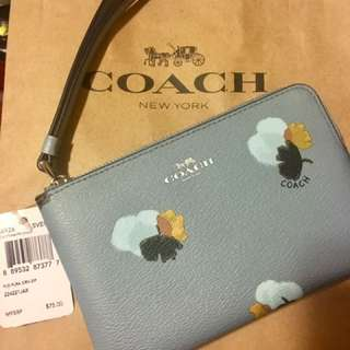 Brand New and Authentic Coach Wristlet