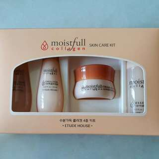 Etude House Moistfull Collagen Travel Set.