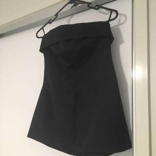 Country Road Black Bustier