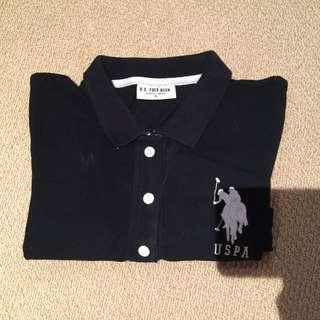 Size Small Black Polo