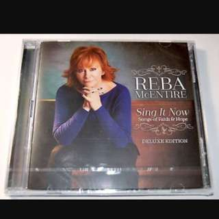 (2CD) Reba McEntire: Sing It Now Songs Of Faith And Hope Album CD