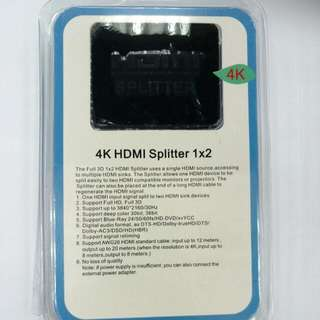 HDMI Splitter 1-2 4K