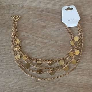 Gold Chocker Necklace