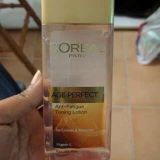 Loreal Toning Lotion