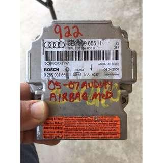 AUDI 奧迪A4/B7 原廠安全氣囊電腦-現貨
