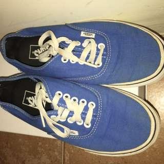 Size 8 Blue Vans