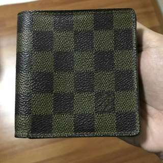 Men's Authentic LV Wallet With Box