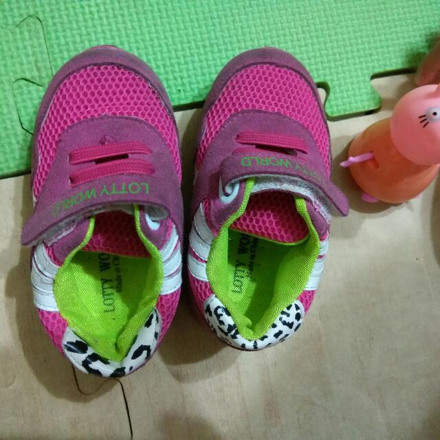 幼兒鞋子,二手14.5