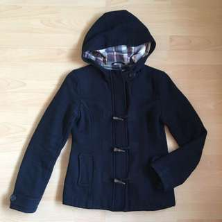 Just Jeans Duffle Jacket Size 6