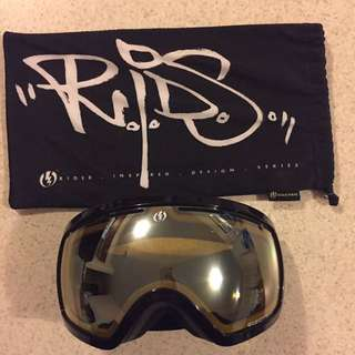 Electric snow goggles