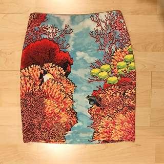 BEBE High Waisted Skirt