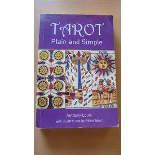 Tarot: Plain and Simple, Anthony Lewis