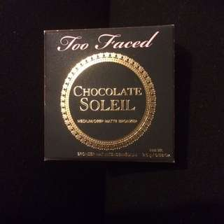 Deluxe Sample Size Too Faced Chocolate Soleil Bronzer