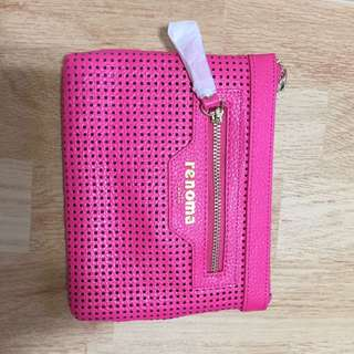 Pink Renoma Wallet Pouch