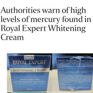 Royal Expert Whitening Cream Ban