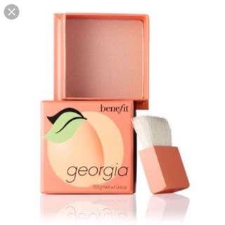 BENEFIT - Georgia Box O' Powder
