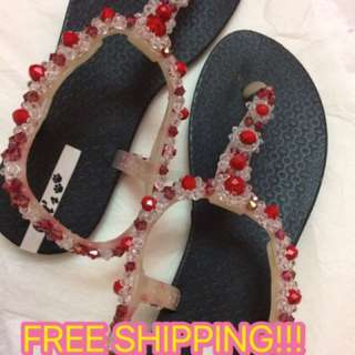 Studded Jewel Fashion Sandals