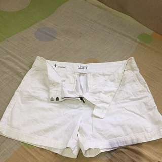 Ann Taylor White Short