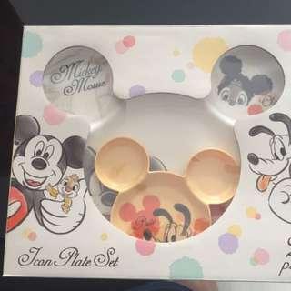 HK Disney Micky Mouse Plate