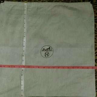 Dust Bag Large - Hermes Authentic