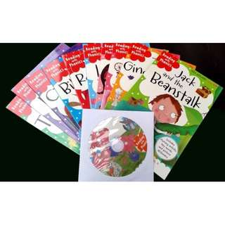 Audio CD with 10 books set – Reading with Phonics collection