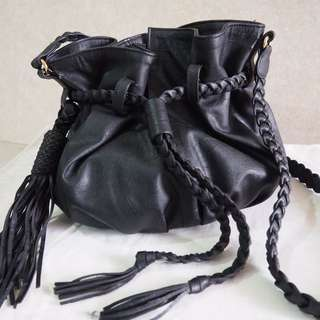 Mini Sabrina Bucket Bag (black) by CLEMENTINE x MIMSY COLLECTIONS