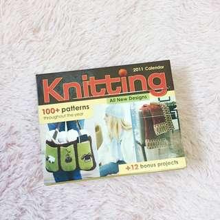 Knitting Calendar Projects