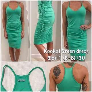 Kookai Green Dress Size 1
