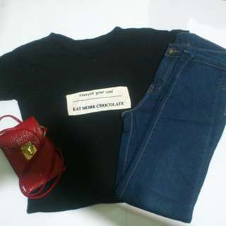 Terno with free small bag