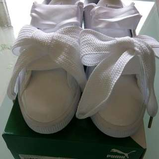 PUMA 緞帶鞋