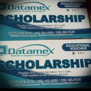 Scholarship Voucher