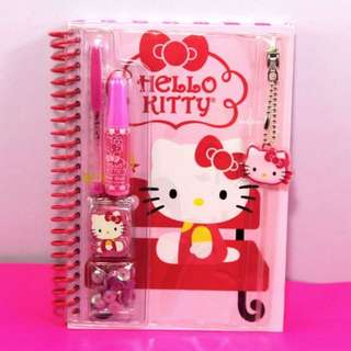 HELLO KITTY Stationery Set-PINK