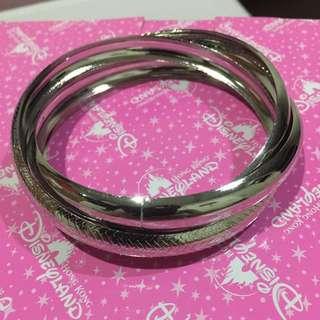 Silver Textured Bangle