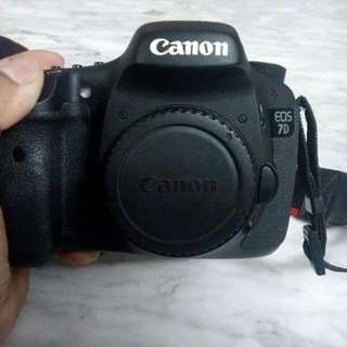 Canon Eos 7d Body Only!