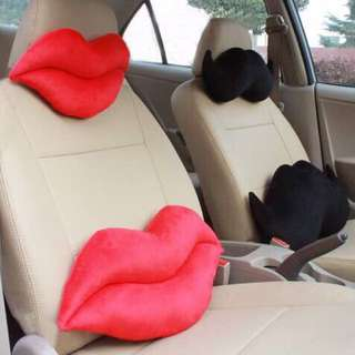 His & Her Car Pillow