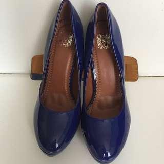 Blue Size 39 Heels