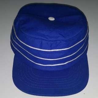 1970s Vintage Pillbox Baseball Snapback Cap - BECO