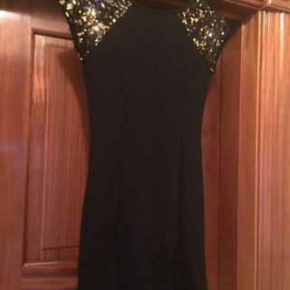 Little Black Dress With Sparkles