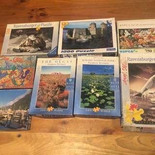 Jigsaw Puzzles $10 Each