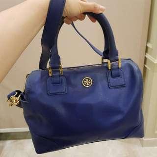 Authentic TORY BURCH Blue Bag