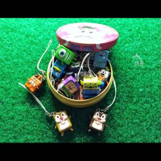 🚚 現貨 迪士尼 皮克斯 玩具總動員 三眼怪 蛋頭先生 糖果盒 糖果罐 鐵盒 玩具 擺飾 擺件 非 扭蛋 轉蛋 食玩 盒抽