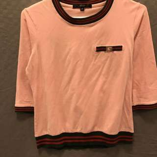 Gucci Pink Shirt