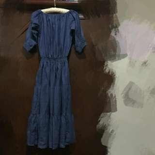 牛仔洋裝《兩款》
