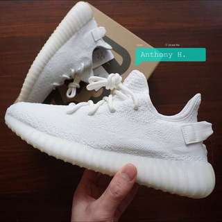 Adidas Yeezy Boost V2 Cream White 椰子