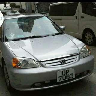 Honda Civic VTI Model 2000 A.T inssurance new