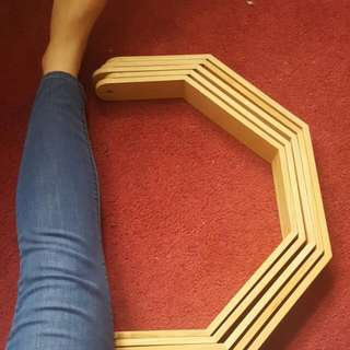 5 Pieces Of Geometric Wood