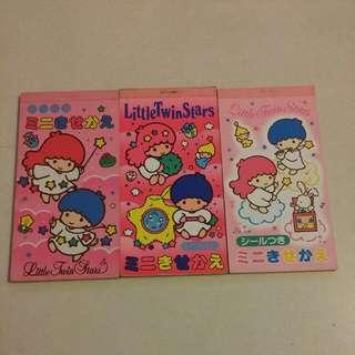 Little Twin Stars紙公仔