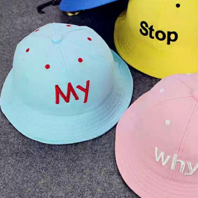 韓版馬卡龍可愛漁夫帽